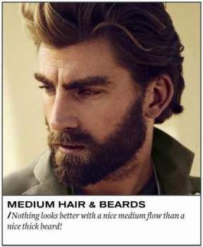 "45 Cool Beard Styles for Men to Be the ""God Of Manliness"""