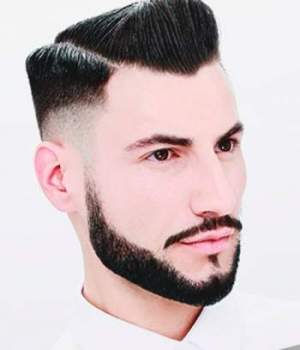 10 Perfect Long Hairstyles With A Short Beard