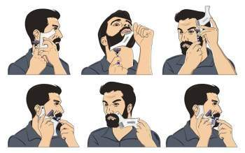 How to shape a beard without trimming - BEARDSPO