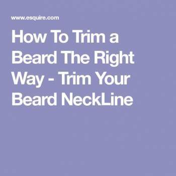 How to Trim a Beard- Step by Step Tutorial and Trimming Tips
