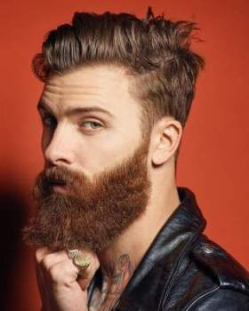 Most Popular Ideas of Mens Hairstyles with Beards,