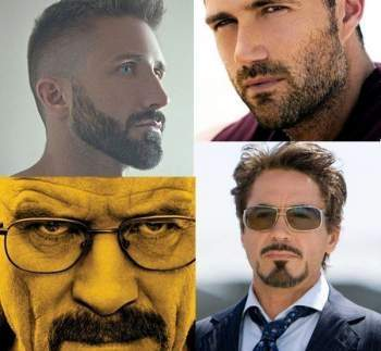 Mens Facial Hair Styles 2016, Mens Facial Hair Style Shapes, Mens Oval Face Hair Styles.