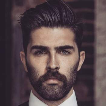 Short Hair With Beard :: 20 Best Iconic Beard Styles for Men - AtoZ Hairstyles