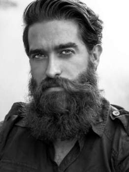 The Story Behind Ricki Hall - The Most Famous Bearded Model - Beardoholic