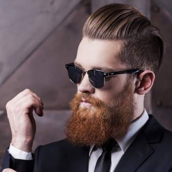 Top 10 Men's Haircuts with Beards, Man of Many