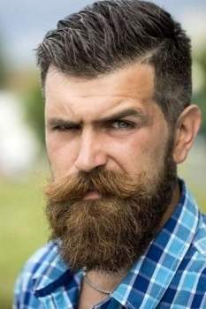 Facial Hair Styles-30 Best Beard styles 2018 with Names and Pictures