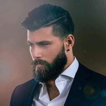 Men s Square Face Shapes Guide: Best Hairstyles, Beards More