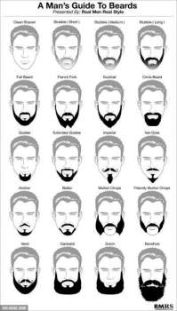 The Different Types of Beard Styles, Zobello Blog