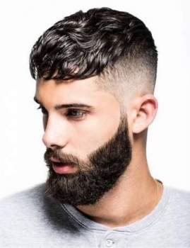 Top Hairstyles for Men with Beard 2019 –