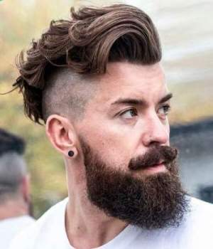 Cool Mens Facial Hair Styles 20 Top Knot Hairstyles For Men