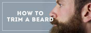 How and what to cut a beard. Beard trim.
