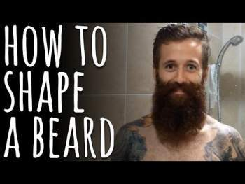 How to shape a beard the right way