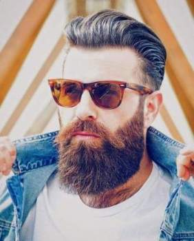 Perfect beard style