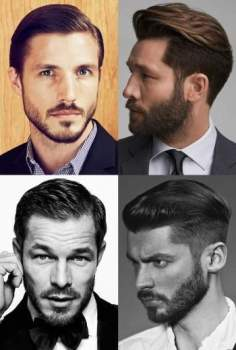 Different beard types, FACIAL HAIRSTYLES