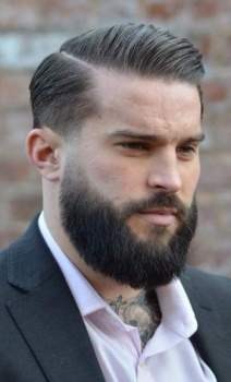 Haircut styles with beard, FACIAL HAIRSTYLES