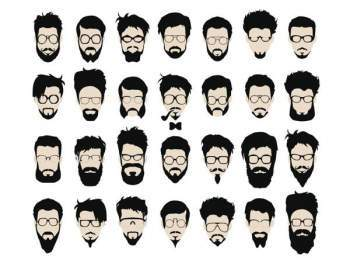 Beard style names, FACIAL HAIRSTYLES