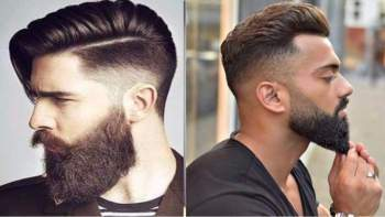 New face hairstyle. Top 10 Best Stylish Beard Styles For Men 2017,...