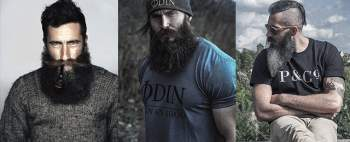 Different styles of beard trimming. Amazing beard styles for men!