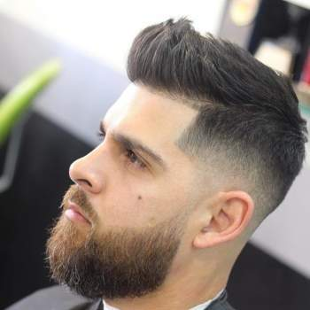 new short beard style beard styles for men with oval face