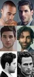 Model beard styles