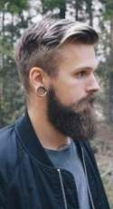 How to style a beard