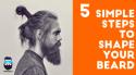 Mens shaving style