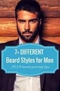 Beard styles for little facial hair