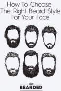Types of facial beards