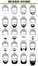 Male beard model