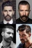 Beard styles haircut