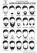 New moustache and beard styles