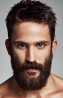 New shaving style for man