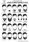New mustache and beard styles