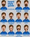 Short beard shapes